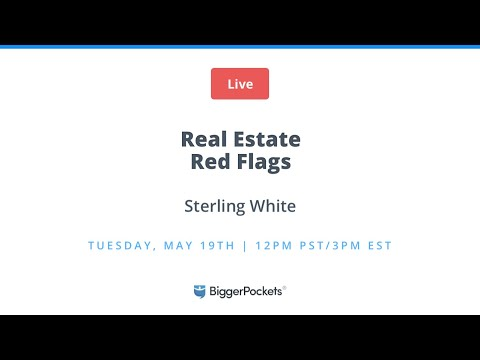 Real Estate Red Flags