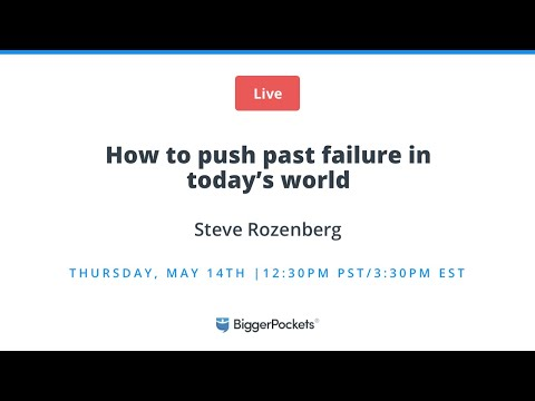 How to Push Past Failure in Today's World