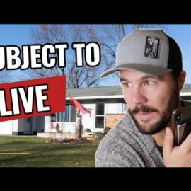 Watch Me Get A Subject To Deal – LIVE Deal Breakdown