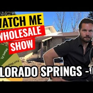 Watch Me Wholesale Show – Episode 28: Colorado Springs, CO