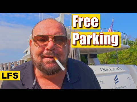 How to park a Yacht for free | Life for Sale