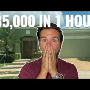 I Wholesaled This House For $85,000 PROFIT! (In Less Than An Hour…)